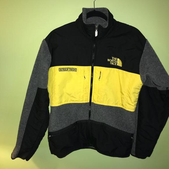 edb61aa5a Vintage North Face Steep Tech Fleece Jacket